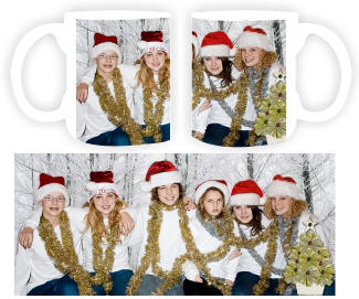 8efbe26e4a9 Custom personalized photo coffee mugs with your picture or logo. No minimum  order, quantity discounts begin at 6 pieces, unlimited colors, no art or  setup ...