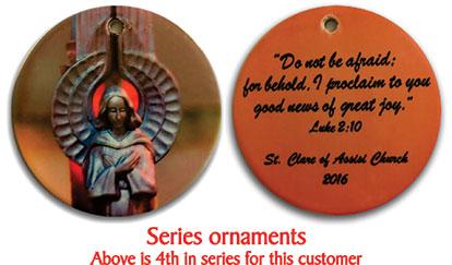 Custom Christmas Ornaments Fundraiser