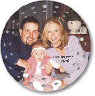 custom photo porcelain lattic ornament